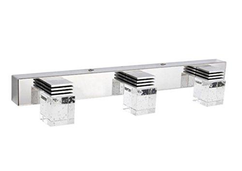 Lightess 9w Cool White Led Bathroom Crystal Vanity Light
